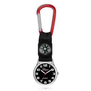 2 PCS Lvpai Nurse Pocket Watch Casual Nurse Pocket Watch (rood)