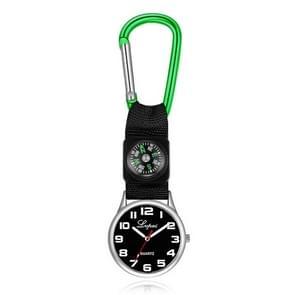 2 PCS Lvpai Nurse Pocket Watch Casual Nurse Pocket Watch (groen)