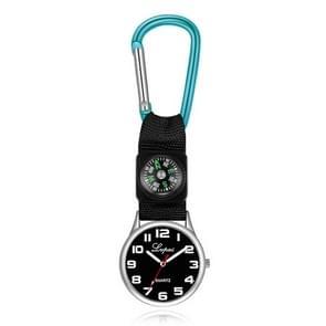 2 PCS Lvpai Nurse Pocket Watch Casual Nurse Pocket Watch (hemelsblauw)