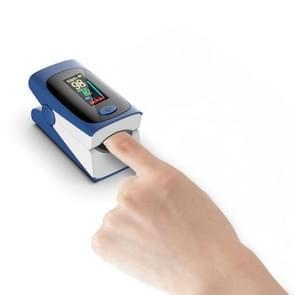 Finger Clip Oximeter Finger Pulse Bloed zuurstofverzadiging monitor  specificatie: kleurenscherm (Blauw & Wit)