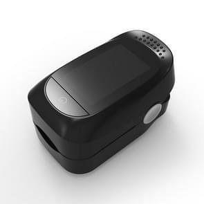 2 PCS Finger Clip Oximeter Finger Pulse/Blood Oxygen Saturation/PI Heart Rate/Sleep Monitoring Monitor(Zwart)