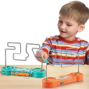 2 PCS Kinderen Electric Maze Game Speelgoed PK Concentratie Training Speelgoed (Random Color Delivery)