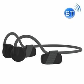 BH318 Sports Outdoor Cycling Bone Conduction Bluetooth Earphone (Donkergrijs)