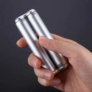Decompressie Roller ONO Creative Decompression Anti-Irritability Decompressie Vingertop roller  kleur: zilver