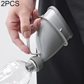 2 PCS Portable Female Pregnant Women Elder Travel Outdoor Urinals Camping Toilet Emergency Tools