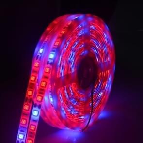5m 300 LEDs SMD 5050 Full Spectrum LED Strip Light Fitolampy Grow Lights for Greenhouse Hydroponic Plant Waterproof(3 Red 1 Blue)
