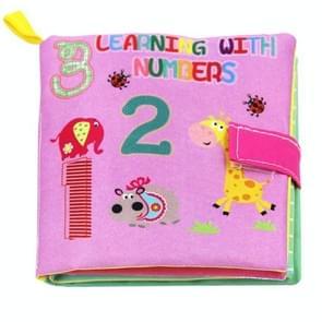 Baby speelgoed Infant educatieve zachte doek boeken (aantal)
