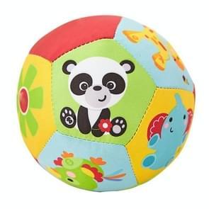 Dierlijke zachte PlushToys met geluid baby rammelaar baby lichaam gebouw bal speelgoed (stijl 2)