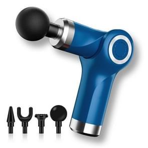 Fascia Gun Pocket Electric Shock Gun Muscle Massage Gun  Specificatie: Vouwen (Blauw)