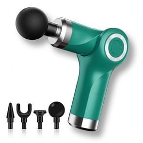 Fascia Gun Pocket Electric Shock Gun Muscle Massage Gun  Specificatie: Vouwen (Groen)