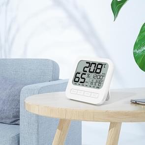 Desktop muur gemonteerde thermometer en Hygrometer wekker elektronische klok