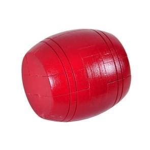 Volwassen houten intelligentie speelgoed klassieke speelgoed Luban Slot  Kleur: Rode Vat
