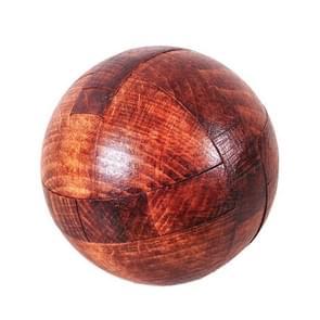 Volwassen houten intelligentie speelgoed klassieke speelgoed Luban Slot  kleur: bal slot