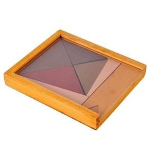 Houten educatieve speelgoed intelligentie puzzels (Driehoek)