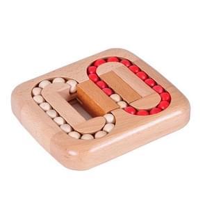 Volwassen houten educatieve speelgoed bal spelletjes doolhof speelgoed