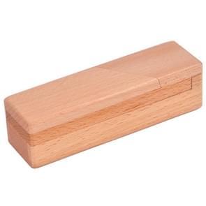 2 PCS houten volwassen klassieke educatieve speelgoed Luban Lock mysterieuze machinebox