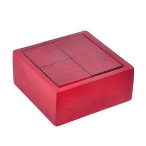 2 PCS Adult Klassieke Houten Educatieve Speelgoed Blok Puzzel Spel