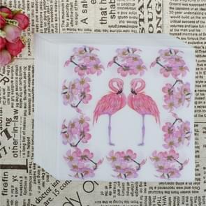 5 PCS Kleurrijke Print Flamingo Party Decoratie Servet gezichtsweefsel