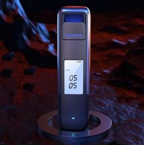 SUSISUN Alcohol Tester Dronken Rijden Waait Hoge Precisie Detector (Zilver)