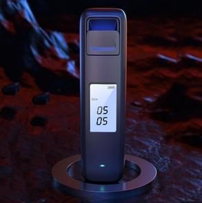 SUSISUN Alcohol Tester Dronken Rijden Waait Hoge Precisie Detector (Obsidian Black)