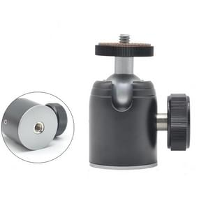 BH-900 Mini Desktop aluminium aluminiumlegering statief mini balkop 360 graden Pan 90 graden Kantelstatief