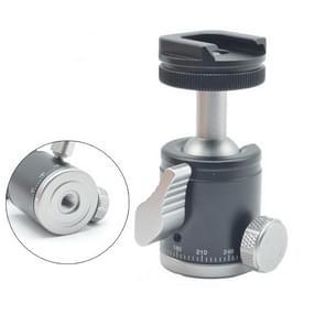 BH-902 Mini Desktop aluminium aluminiumlegering statief mini balkop 360 graden Pan 90 graden Kantelstatief
