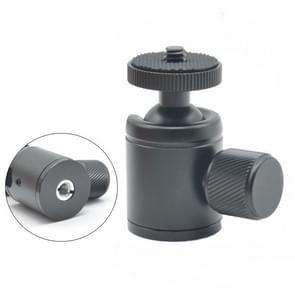 BH-903 Mini Desktop aluminium aluminiumlegering statief mini balkop 360 graden Pan 90 graden Kantelstatief