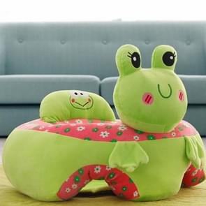 Baby Seats Sofa Plush Support Seat Learning To Sit Baby Plush Toys, Size:45x50x29cm(Green Frog)