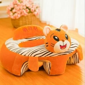 Baby Seats Sofa Plush Support Seat Learning To Sit Baby Plush Toys, Size:50x60x35cm(Tiger)