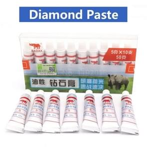 Grit Diamond Abrasive Paste Needle Tube Grinding Polishing Lapping Compound Glass Metal Micron Tool W7 - Grit 1500