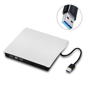 Geborsteld textuur USB 3 0 POP-UP mobiele externe DVD-RW DVD/CD herschrijfbare schijf externe ODD & HDD-apparaat