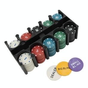 2 stks Leisure schaakspel Poker chip set