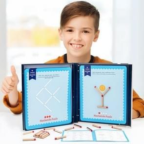 Kinderen Wiskundige Denken Training Matchsticks Puzzelspel Educatief Speelgoed