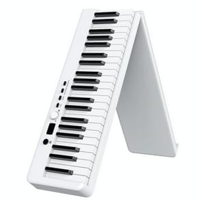 Wersi 88-key opvouwbare draagbare elektronische piano toetsenbord voor beginners praktijk piano  CN Plug (Wit )