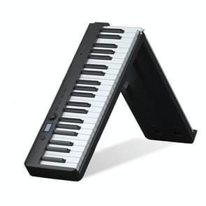 Wersi 88-key opvouwbare draagbare elektronische piano toetsenbord voor beginners praktijk piano  CN Plug (Zwart)