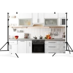 2.1m x 1.5m Kitchen Live Anchor 3D Simulation Foto Achtergrond Doek