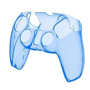 KJH PS5-002 Game Controller Crystal Shell draadloze controller beschermende Shell Cover PC transparante beschermende harde schil voor PS5 (transparant blauw)