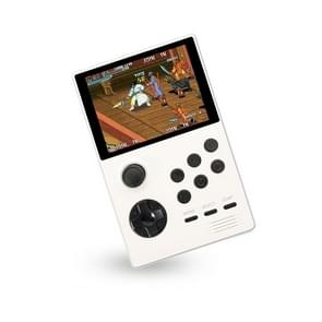 X16 WIFI Versie 3 5 inch Scherm Mini Handheld Game Console ondersteunt Bluetooth Controller / HDMI / MP3 64G (wit)