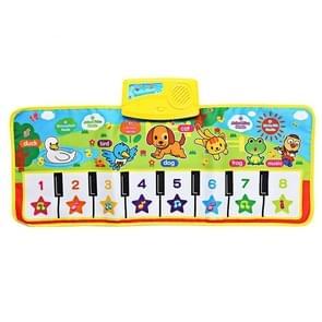 Piano muzikale Touch tapijt kinderen vroege onderwijs muziek keyboard Speelmat