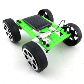 Creative Kids Early Education DIY Solar Energy Car Science Experiment Assembled Toy, Size:3.2x7.5x8cm