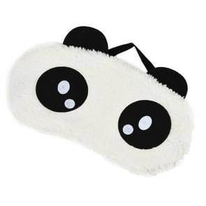 2 PCS Panda Pattern Cotton Goggles Aid Relax Travel Home Use Sleep Eye Mask(C0AA5)