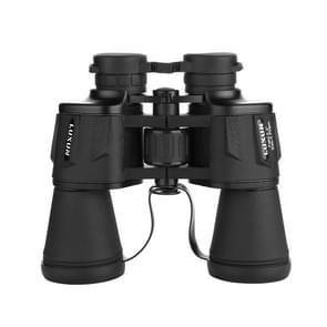Luxun 20X50 Outdoor Verrekijker Low Light Night Vision Non-Infrared High Power Verrekijker (Zwart)