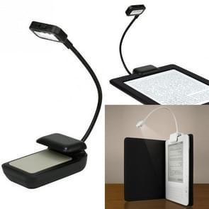 0 5 w draagbare flexibele mini clip Lees lamp (zwart)