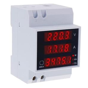 D52-2048 Multifunctionele DIN-Rail Digitale AC Voltage Power Factor Energiemeter