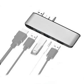 Cabledeconn T0409 Multifunctioneel USB 3.0 HUB Docking Station Cable Interface Converter voor Microsoft Surface Laptop 1 / 2