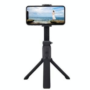 H5 Mobiele Telefoon Single-Axis Stabilisator Anti-Shake Gimbal Bluetooth Selfie Stick Live Holder (Zwart)
