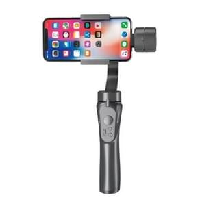 H4 Mobiele Telefoon Stabilisator Drie-assige handheld Anti-Shake Camera Gimbal (Zwart)