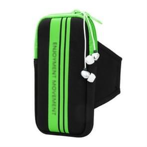 Universal Sports Phone Arm Bag polstas voor 5-5 8 inch scherm telefoon (Groen)