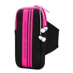 Universal Sports Phone Arm Bag polstas voor 5-5 8 inch scherm telefoon (Rood)