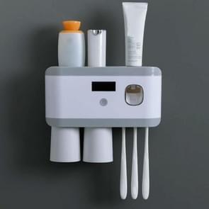 Ultraviolet sterilisatie Slimme tandenborstel houder sterilisator  kleur: twee-poorts